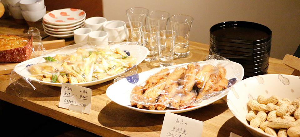 湊川キッチンのようす