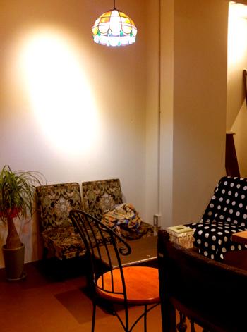 カフェソワ室内
